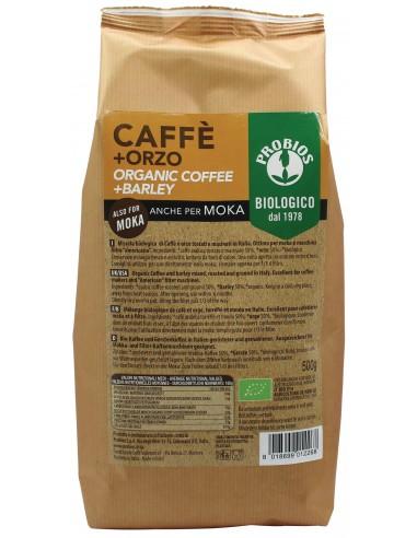 CAFFE' + ORZO (PER MOKA) 500G