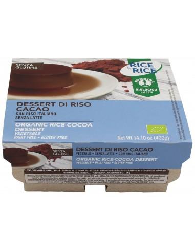 DESSERT DI RISO AL CACAO 4X100G