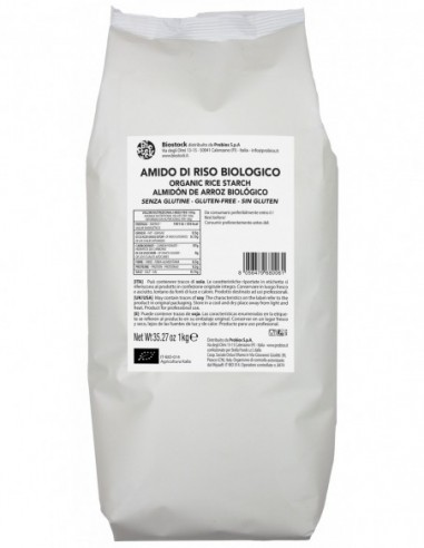 AMIDO DI RISO S/G 1KG - ITALIA