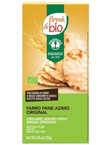 PANE AZIMO DI FARRO ORIGINAL 125G
