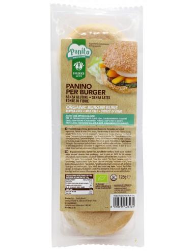PANINO PER BURGER SENZA GLUTINE 125G