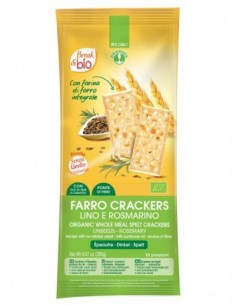 FARRO CRACKERS, LINO E...