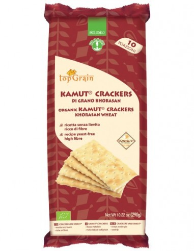 KAMUT CRACKERS S/LIEVITO S/SALE 290G