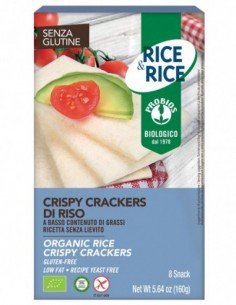 CRISPY CRACKERS 100% RISO 160G