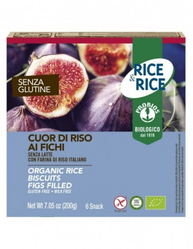 CUOR DI RISO AI FICHI S/GLUTINE 6X33G