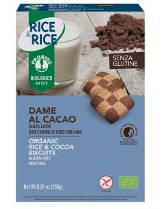 DAME DI RISO CON CACAO S/G...