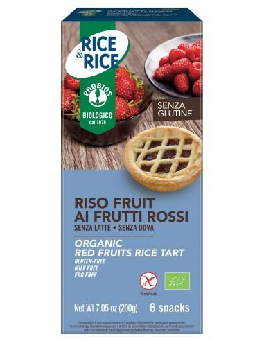 RISO FRUIT AI FRUTTI ROSSI S/G 6X33G