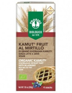 KAMUT FRUIT AL MIRTILLO 4X50G