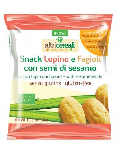 SNACK LUPINO E FAGIOLI 35G S/GLUTINE