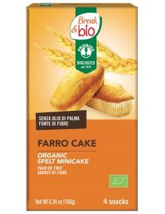 FARRO CAKE AL NATURALE 4X45G