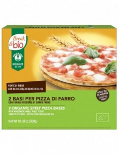 BASE PER PIZZA DI FARRO 300G