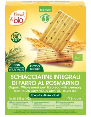 SCHIACCIATINE DI FARRO AL ROSMARINO 100G