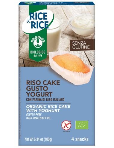 RISO CAKE ALLO YOGURT S/GLUTINE 4X45G