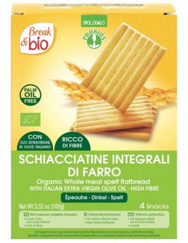 SCHIACCIATINE DI FARRO 100G