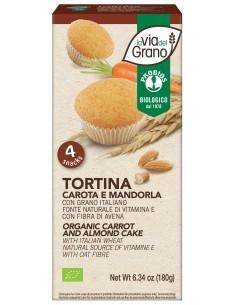 TORTINA CAROTA E MANDORLE...