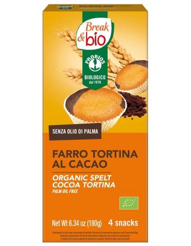 FARRO TORTINA AL CACAO 4X45G