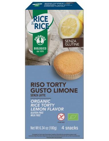 RISO TORTY AL LIMONE S/GLUTINE 4X45G