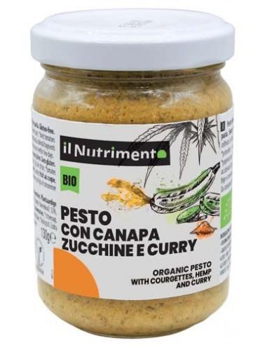 PESTO DI CANAPA ZUCCHINE E CURRY 135G