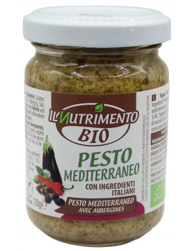 PESTO MEDITERRANEO S/G 130G