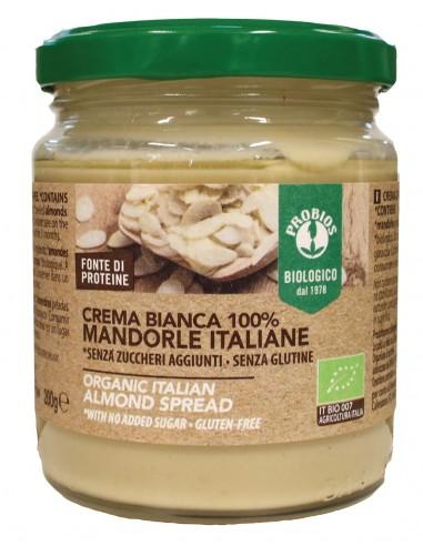 CREMA BIANCA 100% MANDORLE 200G
