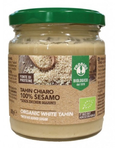 TAHIN CHIARO (CREMA 100% SESAMO) 200GR