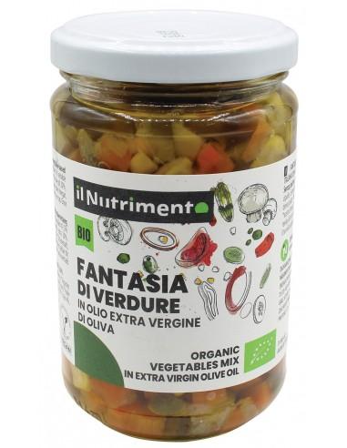FANTASIA DI VERDURE OLIO EXTR.OLIVA 280G