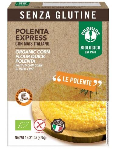 POLENTA EXPRESS S/GLUTINE 375G