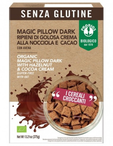 MAGIC PILLOW DARK S/GLUTINE 375G
