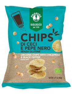 CHIPS DI CECI E PEPE N 40G...