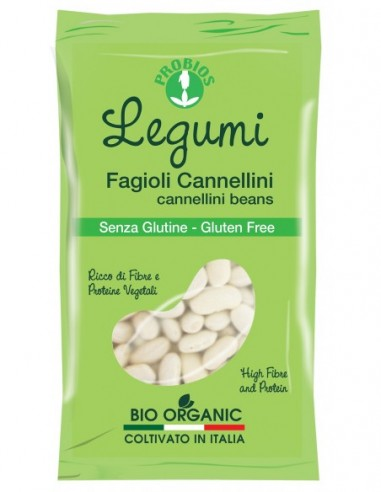 FAGIOLI CANNELLINI BIANCHI S-GLUTINE400G