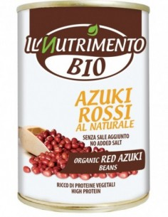 AZUKI ROSSI AL NATURALE 400G