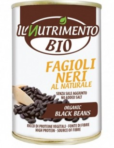 FAGIOLI NERI AL NATURALE 400G