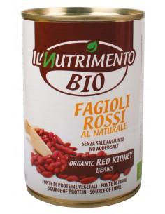 FAGIOLI ROSSI AL NATURALE 400G