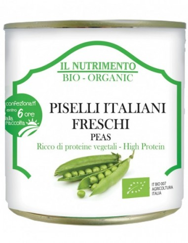 PISELLI ITALIANI AL NATURALE TRIS 3X160G