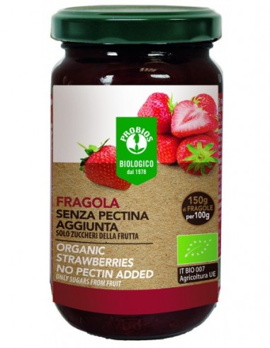 COMPOSTA DI FRAGOLA S/PECTINA 220G