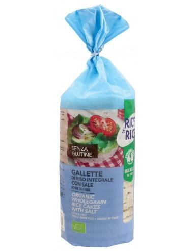 GALLETTE DI RISO CON SALE S/G 100G