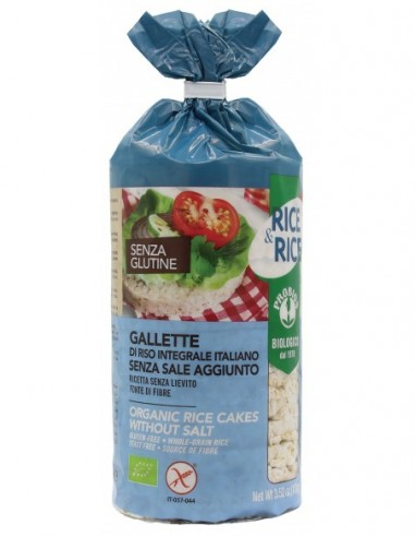 GALLETTE DI RISO SENZA SALE S/G 100G