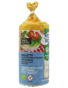 GALLETTE DI RISO CON QUINOA...