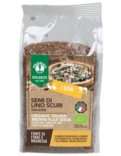 SEMI DI LINO SCURI S/G 500G