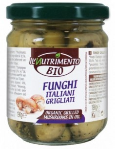 FUNGHI ITALIANI GRIGLIATI