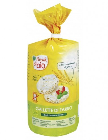 GALLETTE DI FARRO CON SALE 100G