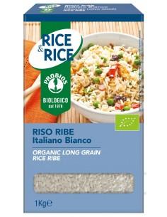 RISO LUNGO RIBE BIANCO 1KG